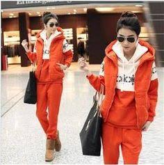 orange womens pant suit - Google Search