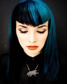 Black Dark Blue Hair - The latests trends in women's hairstyles and beauty