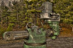 Bridgeport milling machine (built in 1948) | Flickr - Photo Sharing!