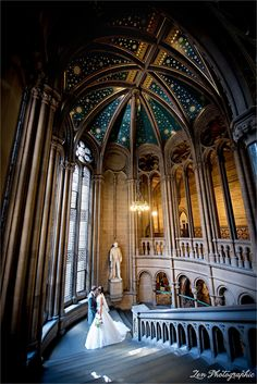 Wedding Pics, Wedding Ideas, Manchester Town Hall, Zen, Wedding Photography, Weddings, Architecture, Marriage Pictures, Arquitetura