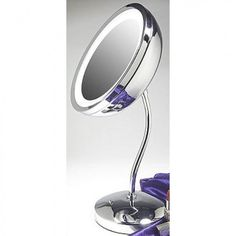 Zadro Products Surround Light Mirror with Pedestal in Chrome - MSA37