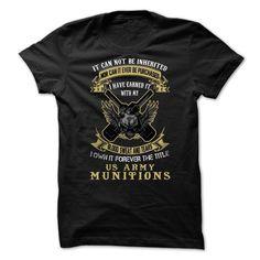 (New Tshirt Deals) US Army Munitions [Tshirt design] Hoodies, Tee Shirts