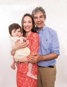 David Nott, 59, pictured with daughter Molly and wife Elly. He serves the NHS at three maj...