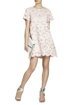 BCBG Max Azria  Diane Oversized Lace Dress