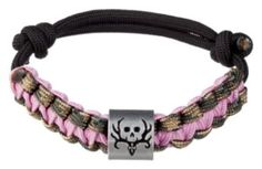 Bone Collector Survival Bracelet - Camo/Pink | Bass Pro Shops.. I WONT ONE OF THESE TOO