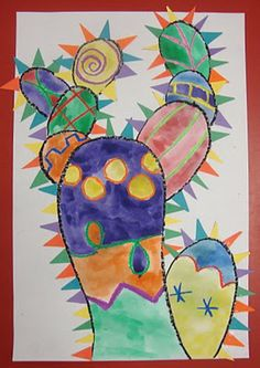 Crazy Cactus:  wonderful tutorial.  This project could cover a wide range of ages.  Easy to do and very colorful.