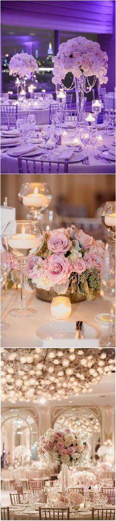 Elegant wedding centerpiece ideas for 2018 #weddingideas #weddingdecor #weddingcenterpieces #weddingreception