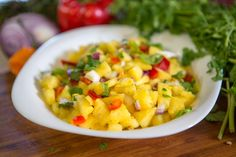 Almost Fearless Kitchen | Pineapple Salsa