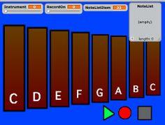 Nebo Elementary School Department of Fine Arts Virtual Xylophone Playback