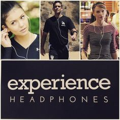 Celebs know that earbuds are a necessary accessory.  Check out our selection of earbuds from #marshall #caeden #LSTN #tedbaker #smsaudio #urbanears #klipsch #yurbuds and #molami www.experienceheadphones.com