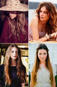 BEAUTY: HAIR INSPIRATION | Collage Vintage