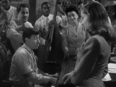 "I've fallen in love with Hoagy Carmichael in this movie ""To Have and Have Not."" And of course, Bogey and Bacall are wonderful too. A definite must-see, if you haven't!"