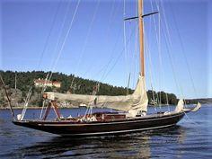 """Erna Signe"" is 12 meter Yacht."