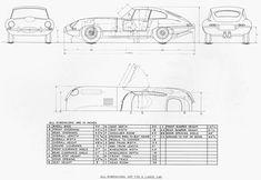 Jaguar E-Type, some prints and details | SMCars.Net - Car Blueprints Forum