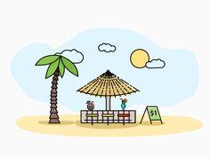 Beach Bar by Matija B.