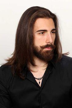 Guy Haircuts Long, Long Layered Haircuts, Boys Long Hairstyles, Straight Hairstyles, Haircut Long, Viking Haircut, Amber Hair, Long Hair Cuts, Long Hair Man