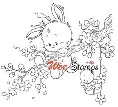 Whimsy Stamps... Wee Stamps. Sylvia Zet: Easter addition