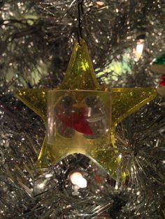 Vintage Christmas Spinner Ornament