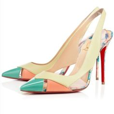 100% Authentic Louboutin Shoes Slingback Shoes 67eaf4276173