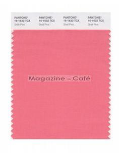Pantone Smart 16-1632 TCX Color Swatch Card, Shell Pink - Pantone