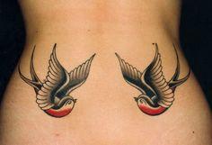 55 Tatuagens de andorinhas