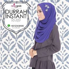 Durrah Instant Shawl by Neng Guelis Hijab on Carousell