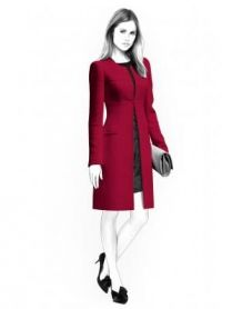 Lekala Sewing Patterns - WOMEN Coats Sewing Patterns Made to Measure and Royalty Free