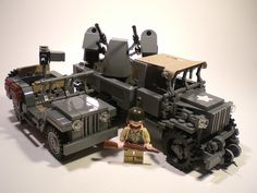 GMC CCKW with M45 Quad .50cal mount by PhiMa', via Flickr