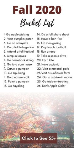 Couple Activities, Fun Fall Activities, College Bucket List, Autumn Bucket List, Autumn To Do List, Summer Bucket, Fall Checklist, Cute Date Ideas, Fall Dates