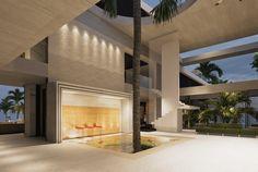 The Abidjan House Walk In Freezer, Panic Rooms, Cinema Room, Living Room Windows, Interior Garden, Villa Design, Guest Suite, Beautiful Bathrooms, Luxury Villa