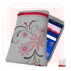 Handyhülle, Smartphone-Hülle von Die tapfere Schneiderin, handmade with love ... by Viola auf DaWanda.com