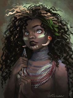 Princess Merida. Maya by CathBotsman