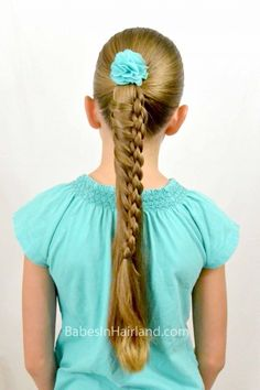 Round Four Strand Ladder Braid from Babes in Hairland