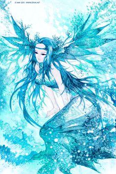 Sea Goddess by zeiva.deviantart.com