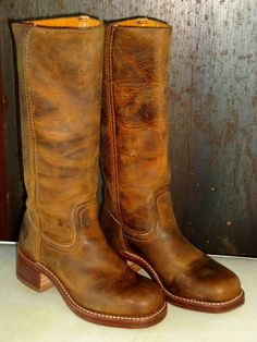 Vintage Frye Boots May 2017