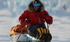 Grant Korgan pushed himself to the South Pole to help raise money to go toward finding a cure for paralysis