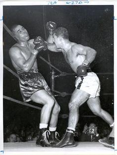 Rocky Marciano vs. Joe Louis