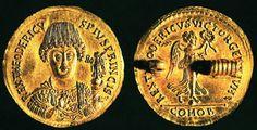 Multiplo  da tre solidi di Teodorico.  Zecca di Roma. 493 d.C.