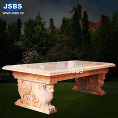 Red Marble Table for Garden More Design on: whatsapp Marble Columns, Stone Columns, Marble Fireplaces, Fireplace Mantels, Marble Carving, Stone Fountains, Garden Table, Garden Stones, Dining Table