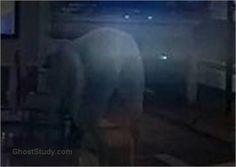 ghost mooning his butt naked