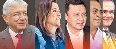 Encuesta revela a presidenciables para 2018