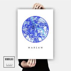 plakat_WARSZAWA II - MAMBALAGA - Plakaty typograficzne