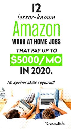#workathomejobs #lesserknown #dreamshala #amazonjobs #amazon #month #2020 #work #home #jobs #that #5000 #pay #per #12 12... Amazon Jobs At Home, Amazon Work From Home, Work From Home Jobs, Epic Jobs, Find Work, Job S, Website