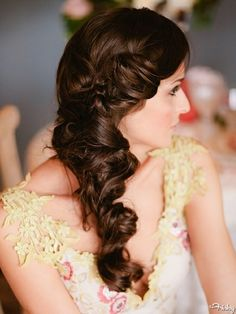 Get inspired: A gorgeous twisted braid. Perfect as is, or with pearls or flowers! #wedding