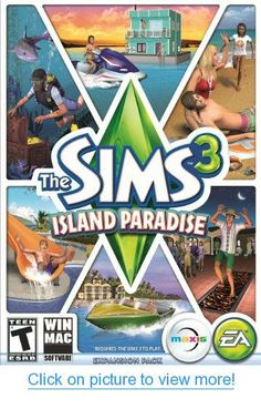 The Sims 3 Island Paradise - Standard Edition [Online Game Code] #Sims #Island #Paradise #Standard #Edition #Online #Game #Code