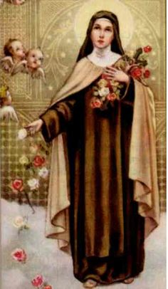 St. Therese, the little flower, Feast Day October 1st