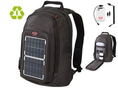 Solar Bagpack Converter 16L Voltaic Systems //  Reuse, recycle, renewable energies //