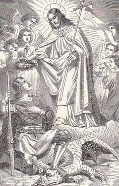 Christ Crowning Saint George