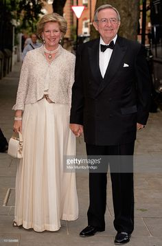 Queen Anne-Marie and King Constantine of Greece attend the King's 70th birthday party at Crown Prince Pavlos of Greece's residence on June 2, 2010 in London, England.