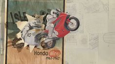 PES Visualizes Honda's History in the Beautiful Hand-Drawn Stop Motion Animated Ad, 'Paper'